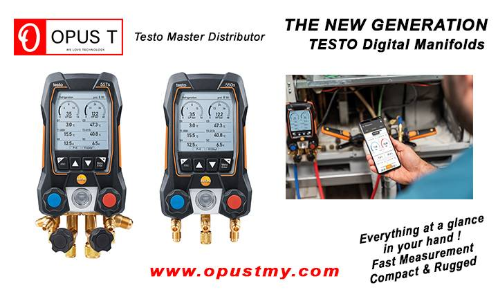 NEW TESTO REFRIGERATION TOOLS