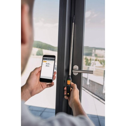 testo 405 i - thermal anemometer with smartphone operation