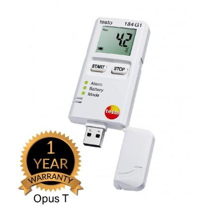 testo 184 G1 - Vibration, humidity and temperature data logger for transport monitoring