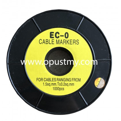 OpusT CABLE MARKERS EC-0 ALPHABET (100pcs/pack) (Q to Z)