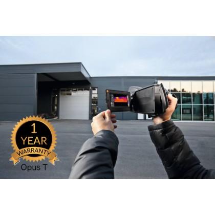 testo 890 - Thermal imager (640 x 480 pixels, focus manual/auto, laser, 1 25° lens)
