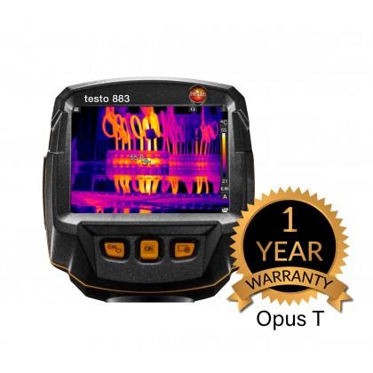 testo 883 - Thermal imager (320 x 240 pixels, manual focus, app, laser)