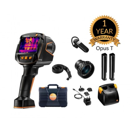 testo 883 kit - testo 883 thermal imager with 2 lenses and accessories